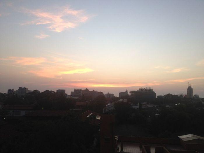 Evening sky On A Break Nature