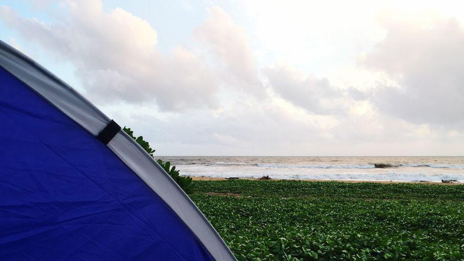 Tonight Camping Beach Sundown SriLanka