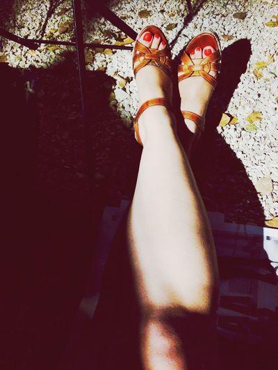Legs garden