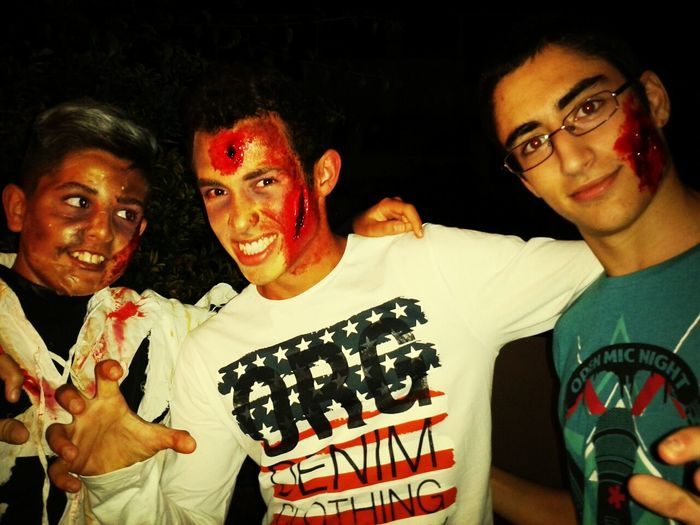 Zombieee Halloween Party Halloween Good Night Quality Time