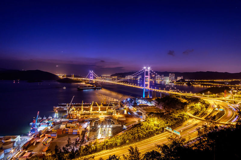 Tsing Ma Bridge Tsing Yi Hong Kong Bridge Night ASIA EyeEmNewHere EyeEmNewHere