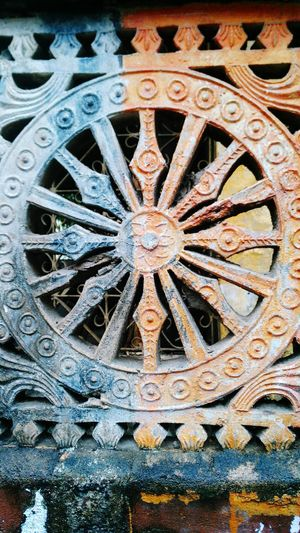 Replica Of Sun Temple Konarak's Chariot Wheel