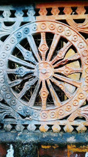 Replica Of Sun Temple Konarak's Chariot Wheel