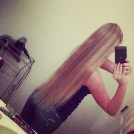 My hair is longer than I thought! Longhair Blonde Toolong Haircutplease