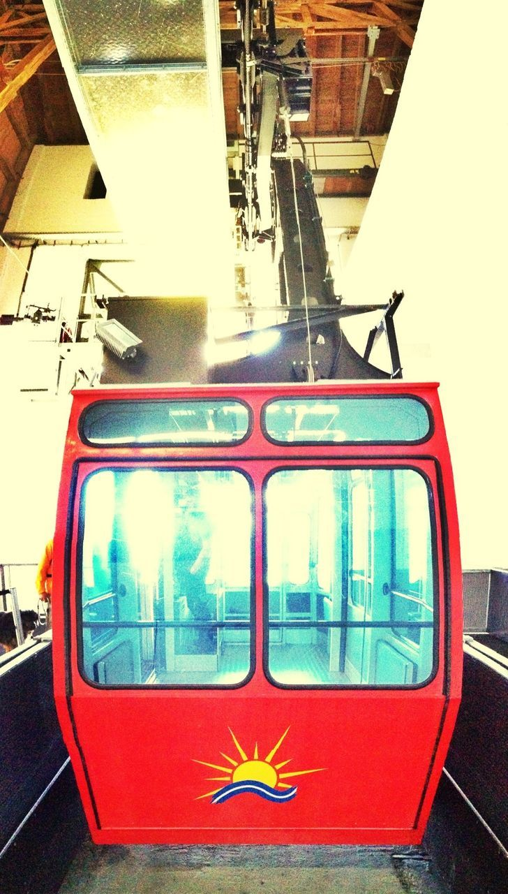transportation, train - vehicle, mode of transport, day, public transportation, no people, indoors, close-up, sky