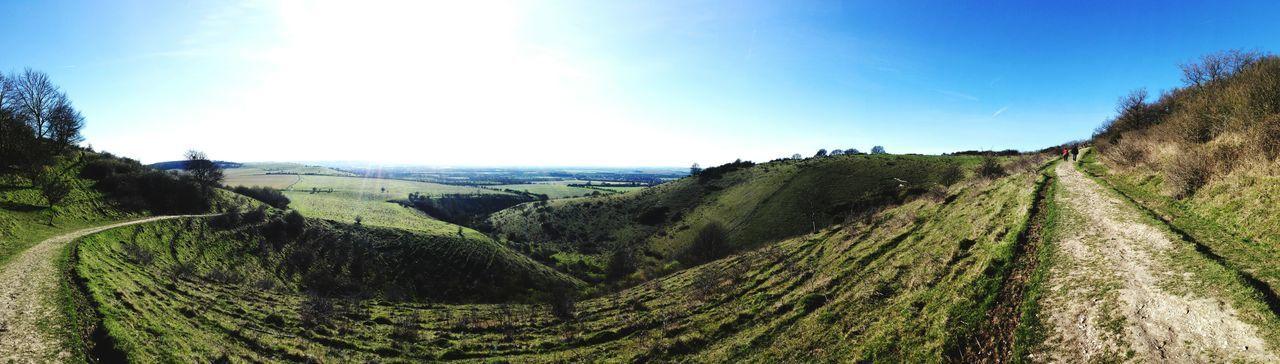 Panorama Panoramic Photography Huawei Nature Hiking Hiking Trail Hikingadventures Green Sky Sky And Clouds