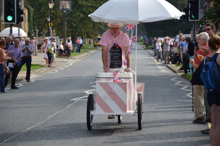 Tour of Britain Ice Cream Bicycle Wine Not