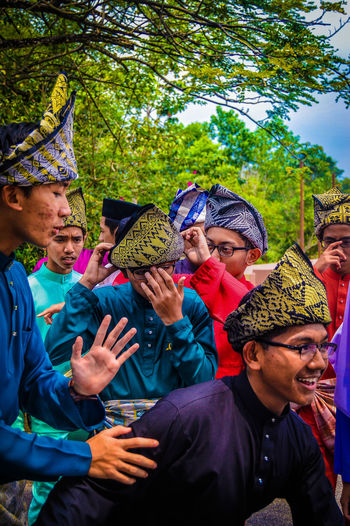 Malays 1. Portrait Togetherness Performance People Adults Only Adult Only Men Multi Colored Party - Social Event Friendship Day Outdoors Tree Young Adult Actor EyeEmSelect Environmentalist Macho Happiness Close-up Nature Growth Plant Tree Fashion The Week On EyeEm EyeEmNewHere