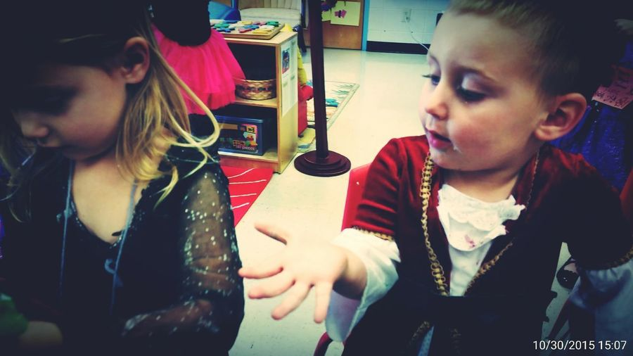The boy insists on whereing his big sisters old halloween costumeLove Without Boundaries Picturing Individuality Halloween Party School Party Elementary School Love Photos That Will Restore Your Faith In Humanity Costume Pirate Witch Kidsphotography SharingIsCaring Sweet Moments GrowingUp Classroom Surprise Feeling Thankful Enjoying Life Check This Out TRENDING  Playing With Kids Open Edit EyeEm Best Edits EyeEmBestPics Faces In Places