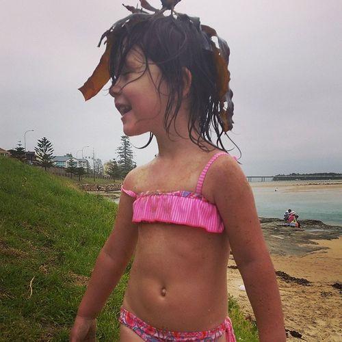 Baby girl, Ayla. Loving her new hairdo. Theentrance Centralcoast Hairdo Xmaseve christmaseve inthemoment