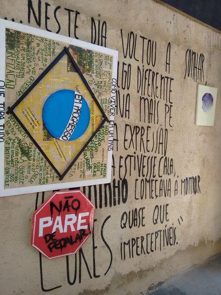 Brazil ❤ Modernartwork Style Of Life Grafitti Mural Flag Word Art Colors Grafitti