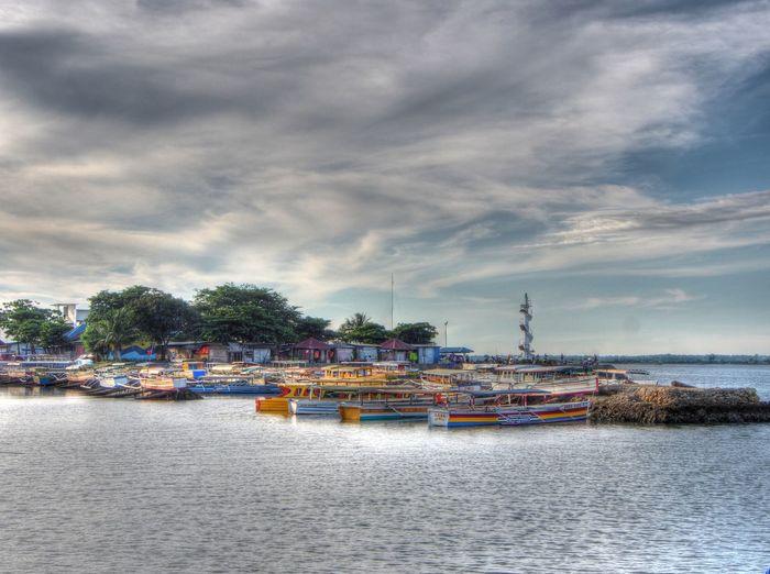 Cloud - Sky Harbor Hundred Islands  Lucap Warf Nautical Vessel No People Scenics Sea Water