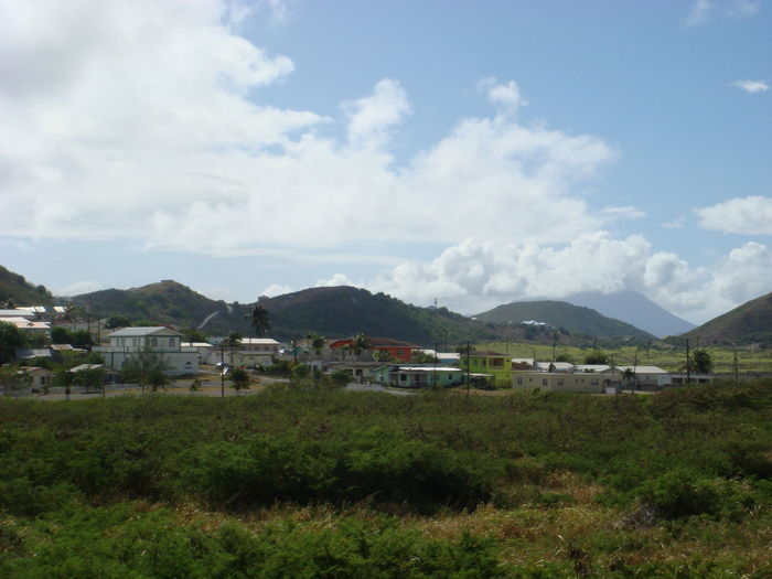 Green Nature Outdoors Scenic St. Kitts Tranquil Scene