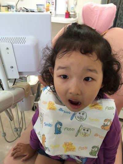 かな 歯医者 大人の事情で 2度目で 虫歯治療 … よく頑張りました(´◡`๑)