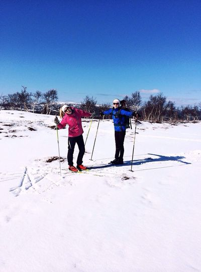 Skiing Enjoying Life Easter