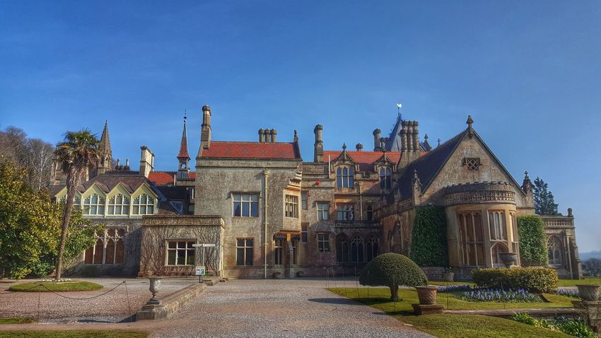 This was a wonderful house with fabulous grounds too...made better by such a beautiful day 💙💙 Tyntesfield Nationaltrust Enjoying Life Check This Out Streamzoofamily From My Point Of View Day Out With Friends Sunny Day Beautiful National Trust Buildings & Sky