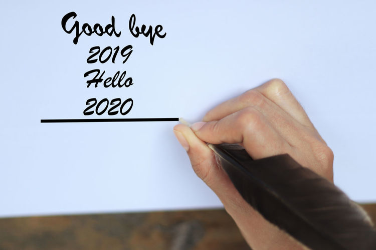 good bye 2019