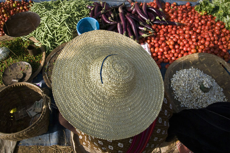 EyeEm Best Shots Food And Drink Freshness Market Rice Bean Burma Close-up Day Fish For Sale Fruit Healthy Eating Large Group Of Objects Market Market Stall Myanmar No People Outdoors Retail  Tomato Travel Destinations Vegetable