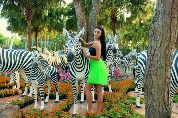 Thailand Nong Nooch Tropical Bothanical Garden Me