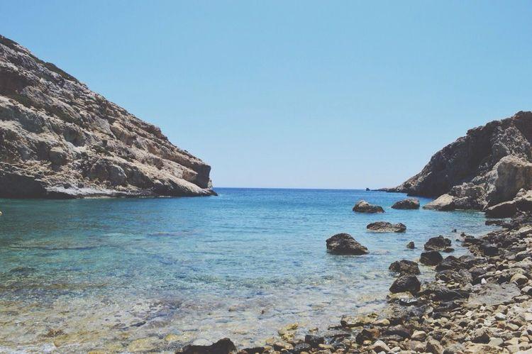 Crete Hiking Bluewater Swimming