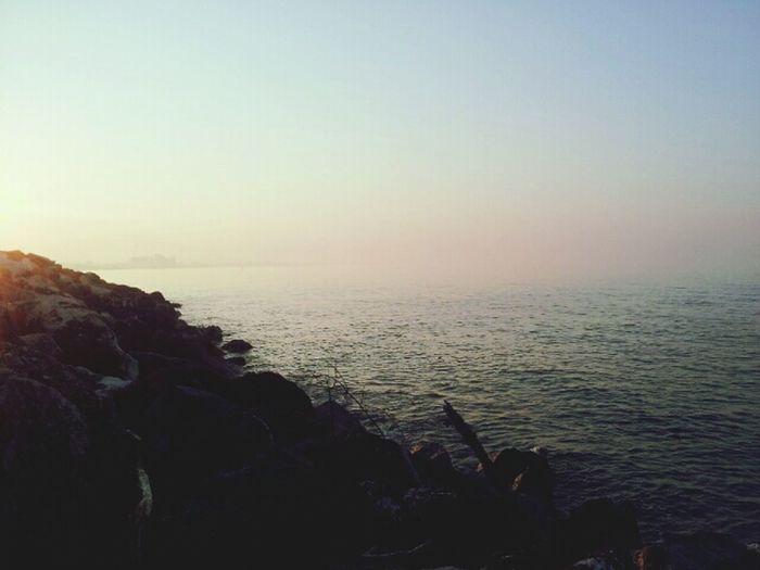 Taking Photos Landscape Sea Sunset ♥ five minutes of peace