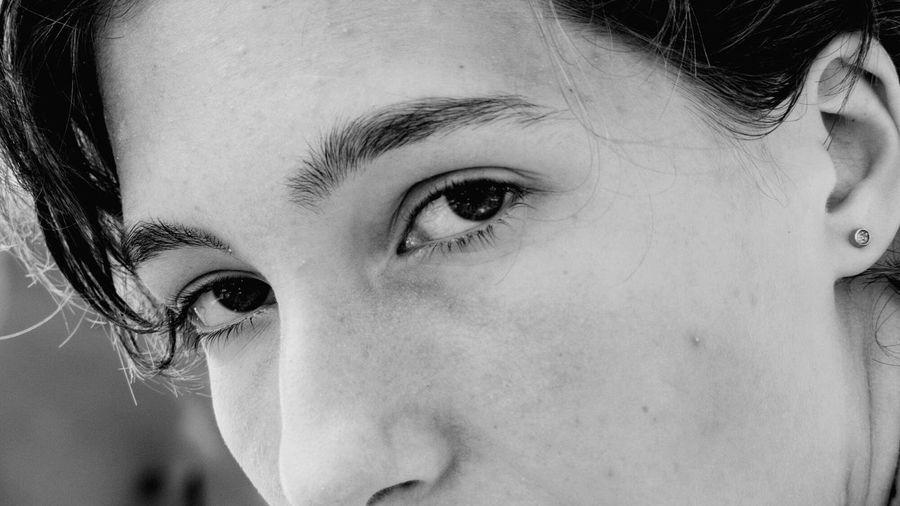 👀 EyeEm Selects Eyelash Human Eye Young Women Portrait Human Face Beautiful Woman Eyeball Headshot Close-up