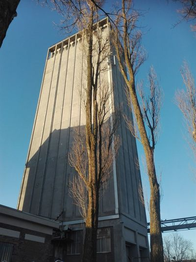 Low Angle View Architecture No People Day Built Structure Clear Sky EyeEmNewHere NoEditNoFilter Havenkwartier Silo
