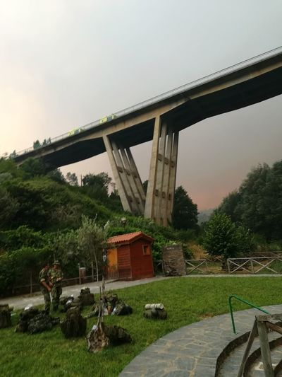 Bridge - Man Made Structure Architecture Built Structure Tree Outdoors Sky Nature Fire Safe Zone P10lite