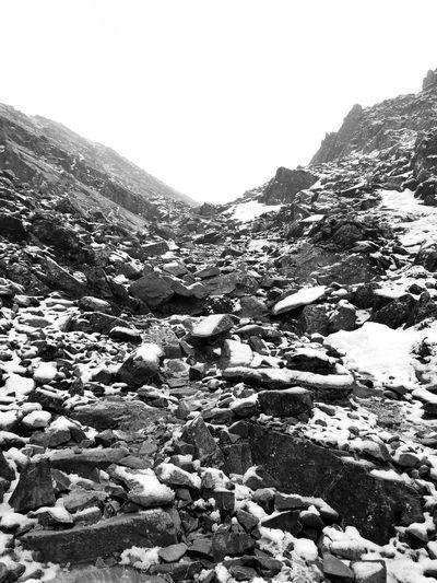 Steep rocky