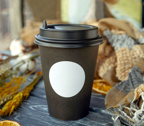 A paper cup of
