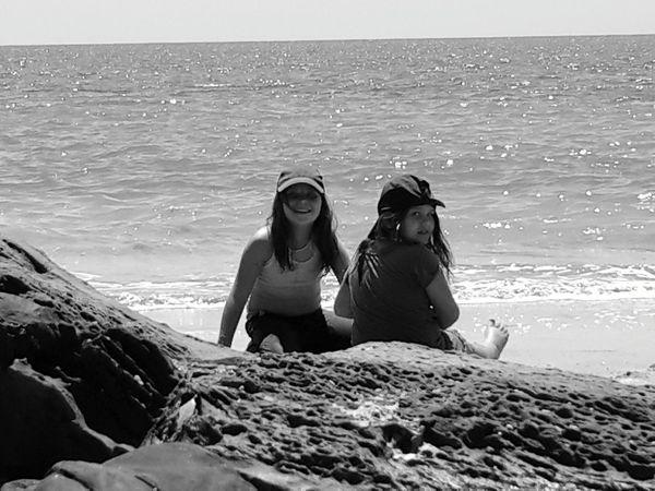 My Girls at the beach