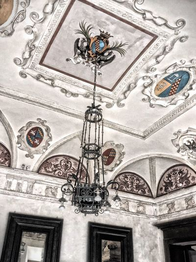 Barolo City IndoorPhotography Taking You On My Journey 😎 43 Golden Moments, EyeEm Gallery Cealing Chandelier Cealing Art Old But Awesome Fine Art Fine Art Photography HDR Italy🇮🇹 Old Buildings No People Architecture_collection Architecture Architectural Detail Designed Fine Art Photograhy Colour Of Life