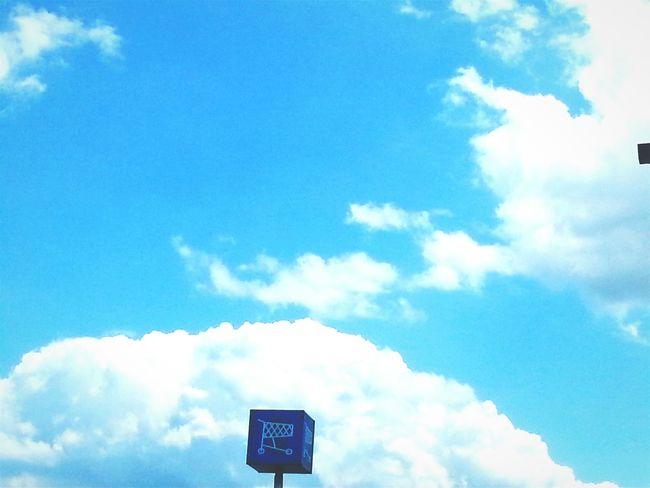 Michigan Caro Vigi's Clouds Parking Lot View