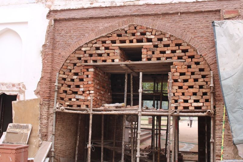 The art of brickwork Architecture Built Structure Building Exterior Building Day No People Old Wall - Building Feature Arch