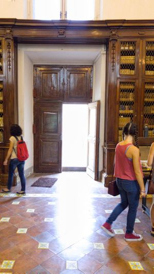 People And Places , naples, girls , girolamini library Bay Of Naples, Italy. Hidden Gems