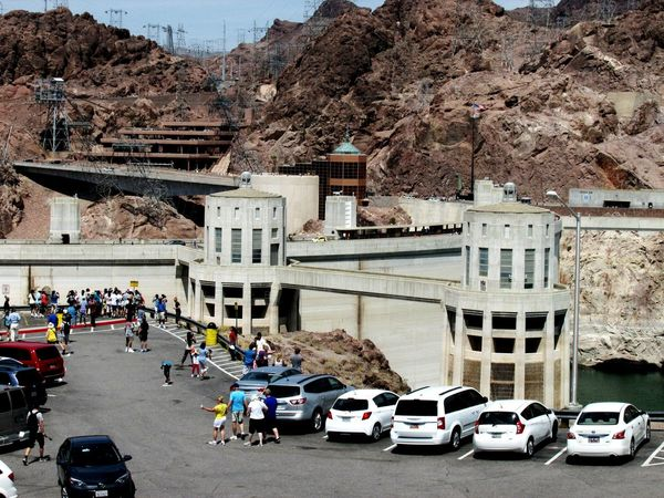 Hoover Dam Boulder Dam Visitor Center Arizona Nevada Electricity  Traveling Taking Photos The Tourist People And Places