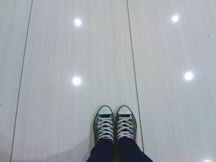 Feet Shoes Taking Photos Chuck Taylor Converse⭐ Topview