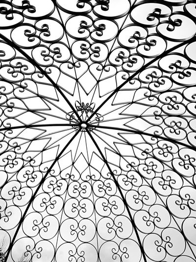 Abstract Architectural Feature Backgrounds Close-up Day Design Detail Full Frame Geometric Shape Iron No People Ornate Pattern Repetition Roth Iron