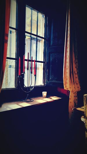 Old Interior Vintage Photo Vintage Interior Candles Love Old Love Old-fashioned Old Curtains Red Curtains Waiting For You Waiting For You Back Nostalgia Old House Old Architecture Old Armchair Romantic Romantic Scenery