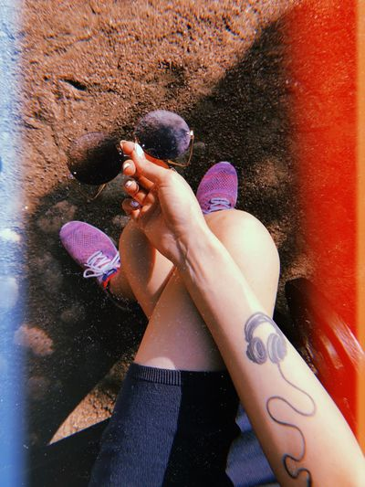 Summertime Summer Heat - Temperature Heat EyeEm Selects One Person Lifestyles Real People Leisure Activity Human Body Part Women Human Leg Body Part Human Hand
