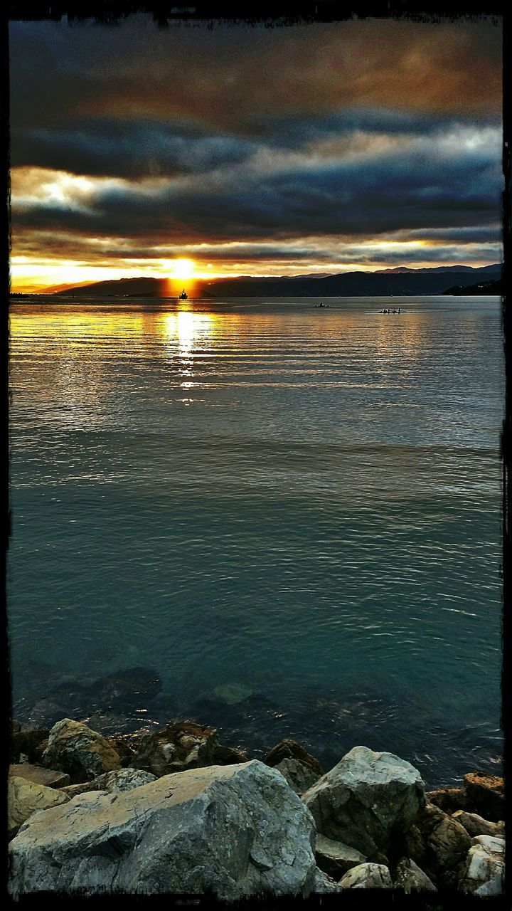 water, sea, nature, beauty in nature, tranquility, sunset, tranquil scene, scenics, sky, outdoors, no people, cloud - sky, beach, horizon over water, day