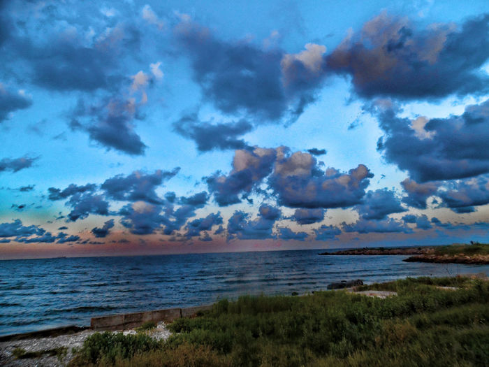 Atmosphere Atmospheric Mood Beach Beautiful Nature Cloud Cloud - Sky Cloudscape Dramatic Sky Majestic Moody Sky Ocean Outdoors Scenics Sky Sunset Texas Texas City Texas City Dike Tranquil Scene Tranquility