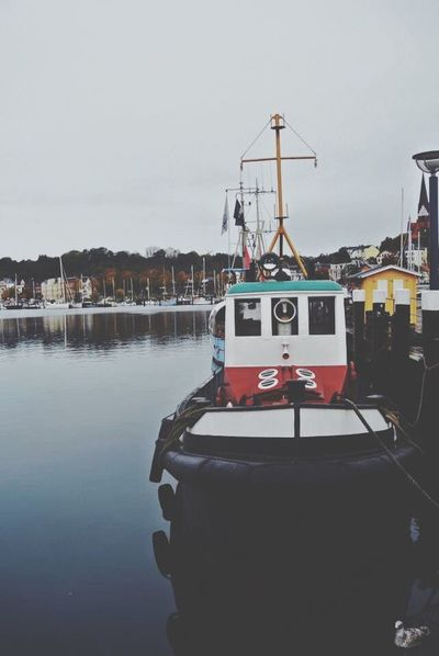 Sea Water Outdoors Sky No People Harbor Mast Boat Colours Europe Trip Solotraveler