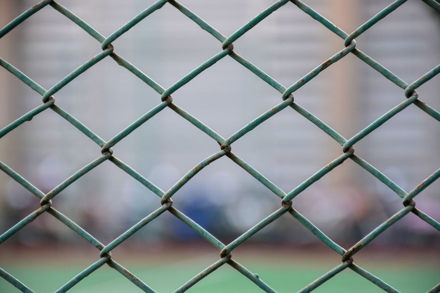 Green Green Steel Cage Tennis Cage Backgrounds Barrier Boundary Cage Chainlink Fence Close-up Day Fence Focus On Foreground Front View Full Frame Metal Nature No People Outdoors Pattern Protection Repetition Safety Security Sport Steel Cage First Eyeem Photo