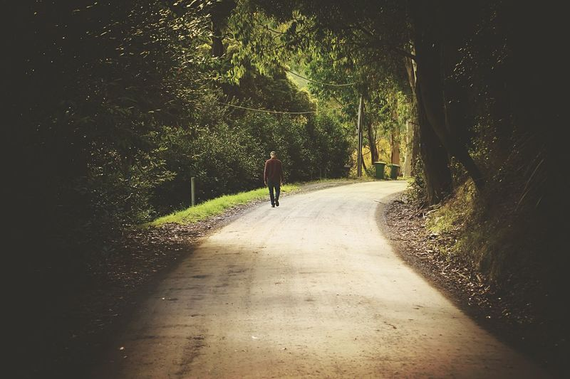 Just Around The Corner Walking Around Tracks On The Road Path Throw A Curve Feel The Journey Original Experiences