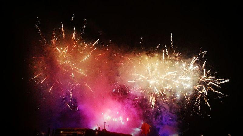 Krakow Krakowpoland Cracow Wisla Fajerwerki Fireworks