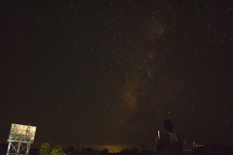 Star - Space Night Astronomy Galaxy Sky Milky Way Outdoors No People Science Scenics Nature