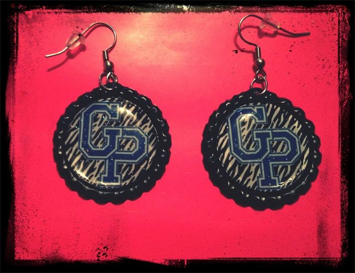 Grand Prairie High School Earrings