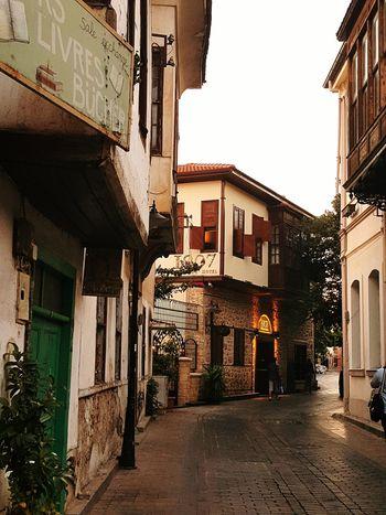 Antalya Turkey Kaleiçi Sokakları