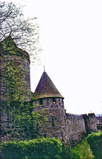 Building Exterior Carcassonne Carcassonne Castle Castle Walls Fortress Fortress In Europe Fortress View Fortress Wall Historic Centre Outdoors Pointed Roof Sky And Clouds Sky And Clouds Collection Sky And Clouds Landscape Stone Towering Skywards Turrets